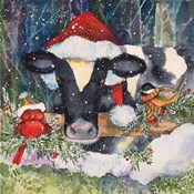 Winter Cow