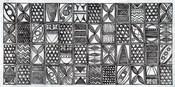 Patterns of the Amazon I BW