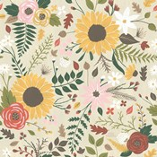 Autumn Garden Pattern VIII