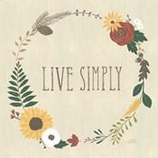 Autumn Garden Live Simply