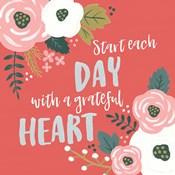 Wildflower Daydreams VII Grateful Heart