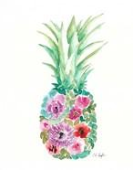 Floral Pineapple III
