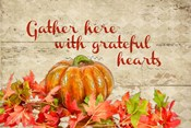 Gather with Thankful Hearts