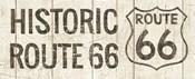 Flea Market Road Sign Route 66