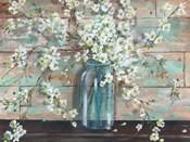 Blossoms in Mason Jar