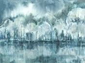 Watercolor Aspen Shore