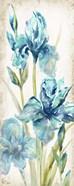 Watercolor Iris Panel REV II