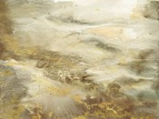Taupe Watercolor Abstract