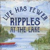 Lake Living IV (ripples)