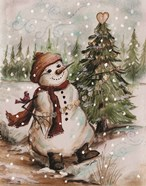 Country Snowman I