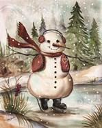 Country Snowman III