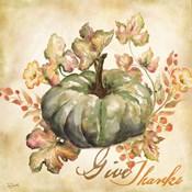 Watercolor Harvest I