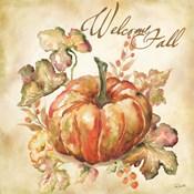 Watercolor Harvest IV