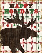 Simple Living Holiday Moose