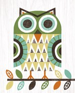 Folk Lodge Owl Earth