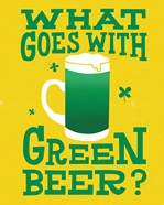 Green Beer Cake I
