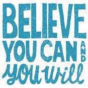 Believe You Can Teal