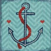 Nautical Love Anchor