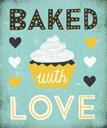 Retro Diner Baked with Love