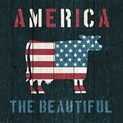 American Farm Cow