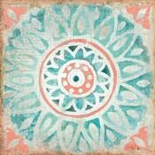 Ocean Tales Tile VII Coral