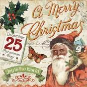 Vintage Christmas II Santa