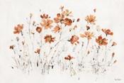 Wildflowers I Orange