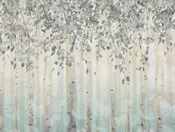 Silver and Gray Dream Forest I