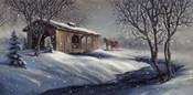 Covered Bridge Snow