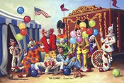 Ten Clowns