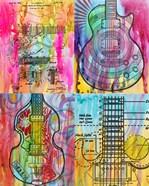 Four Guitars