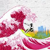 Surfin' NYC (detail)