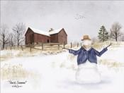 Amish Snowman