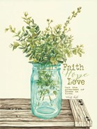 Faith, Hope, Love and Eucalyptus