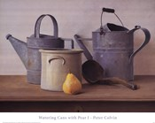 Watering Cans with Pear I