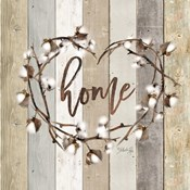 Home Cotton Wreath
