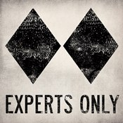 Experts Only White