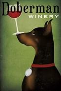 Single Doberman Winery