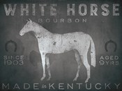 White Horse with Words