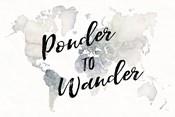 Watercolor Wanderlust Ponder