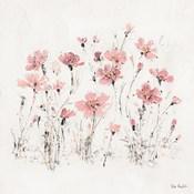 Wildflowers III Pink