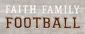 Game Day III Faith Family Football