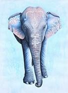 Painted Asian Elephant