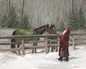Santa with Horses