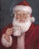 Santa with a Mug