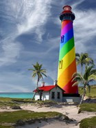 Rainbow Lighthouse South