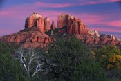 Sedona Cathedral Rock Dusk