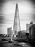 The Shard Building and The River Thames - London