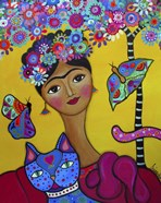 Brigit's Frida And Her Cat