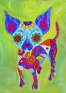 Talavera Happy Chihuahua